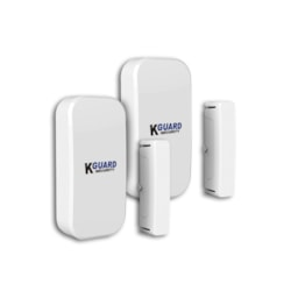 KGuard Additional Door Sensor Twin-Pack For DSH-002 Wireless Alarm Kit