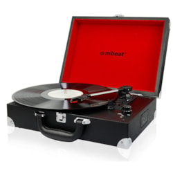 Mbeat® Retro Briefcase-Styled Usb Turntable Recorder