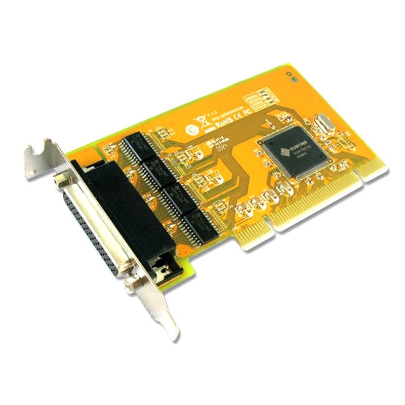 Sunix Ser5056al Pci 4-Port Serial RS-232 Card - Low Profile
