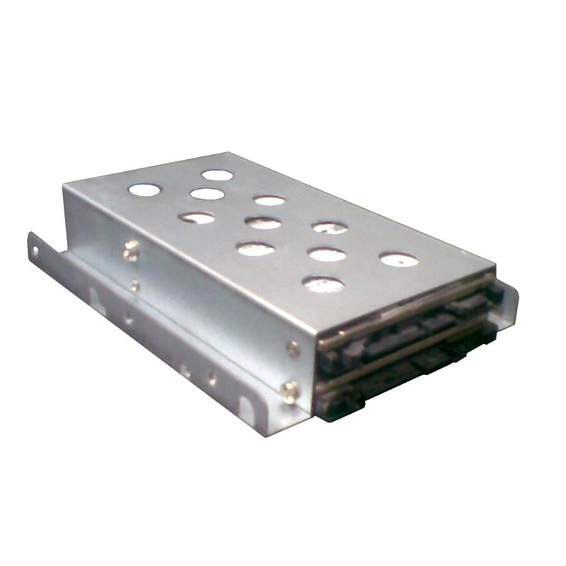 "TGC 1 X 3.5"" To 2 X 2.5"" HDD/SSD Tray Converter Silver"