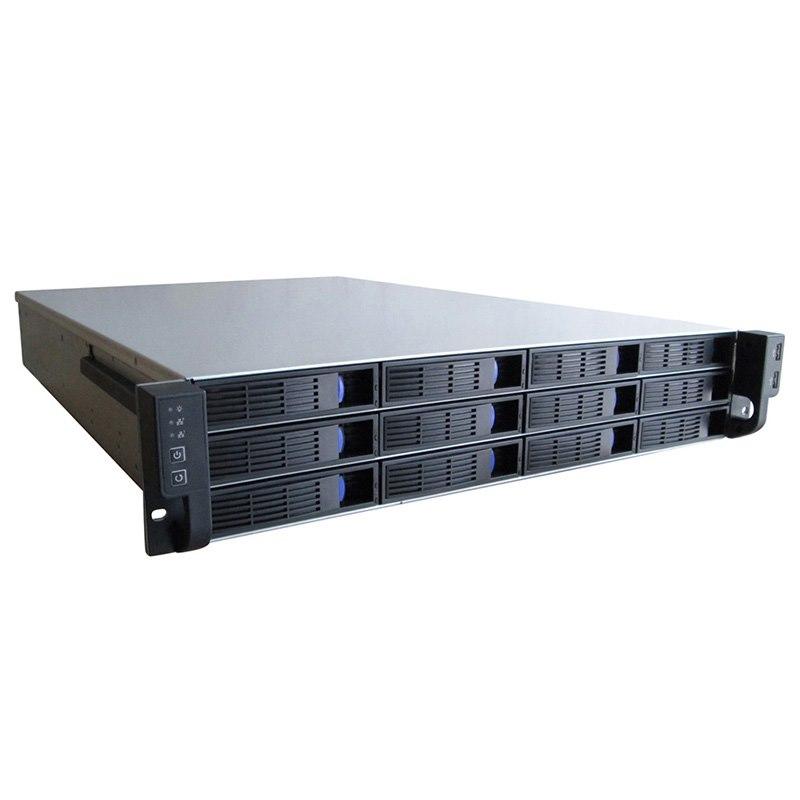 TGC 2U 12-Bay Hotswap Server Chassis - 650MM Deep