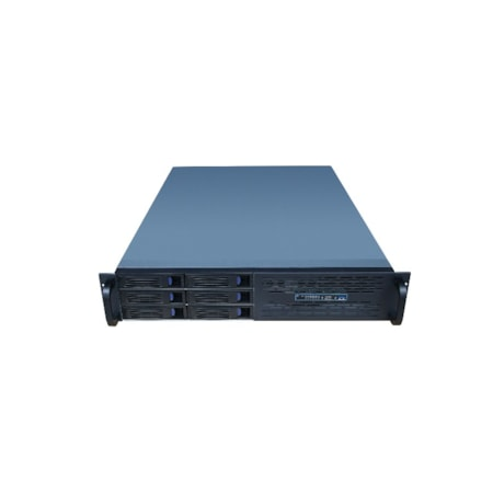 TGC Rack Mountable Server Chassis Case 2U 650MM Depth With 6 Bays Hot-Swap And Atx Psu Window - No Psu