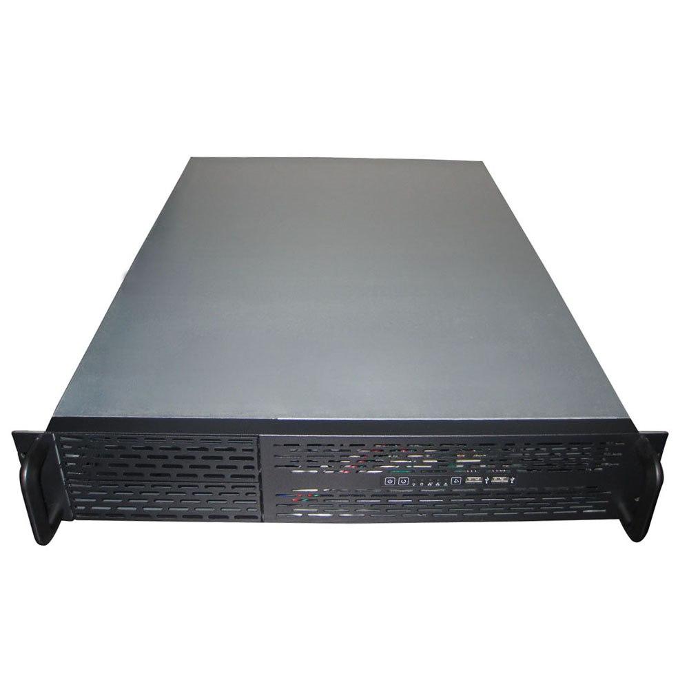 TGC Rack Mountable Server Chassis Case 2U 650MM Depth With Atx Psu Window - No Psu