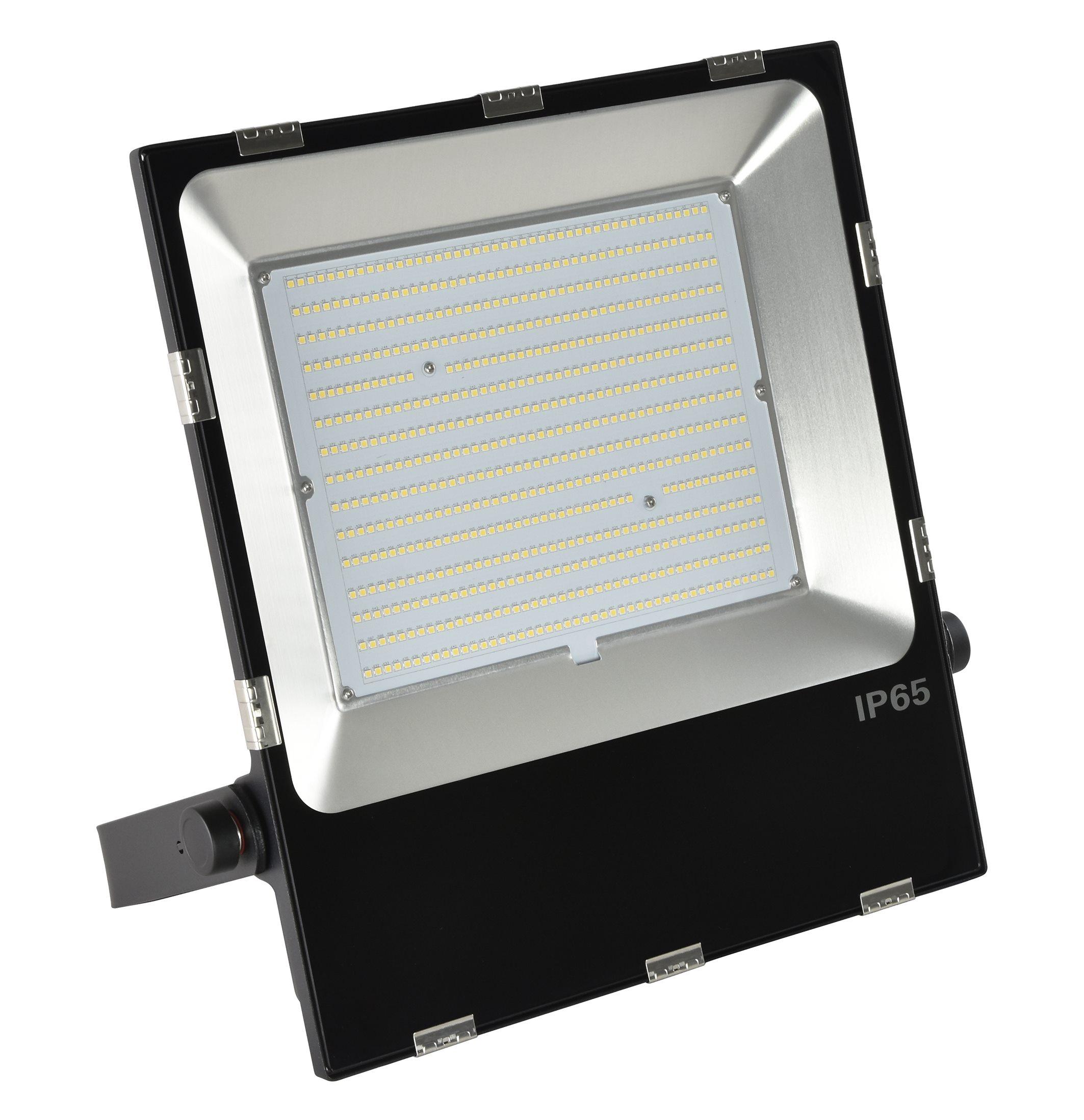 Energetic MarVelite Plus Weatherproof Led Floodlight Ip65 200W 4000K 27000Lm Black [272408]