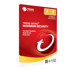 Trend Micro Maximum Security 2016 (1-2 Devices) 1 Year Multi-Device Oem
