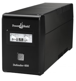 Powershield Defender 650Va Fanless, Usb i/Face, Avr Prote