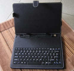 Leader Tablet 10' Casew/USB Keyboard Folio For Any 9.7'/10' Tablet