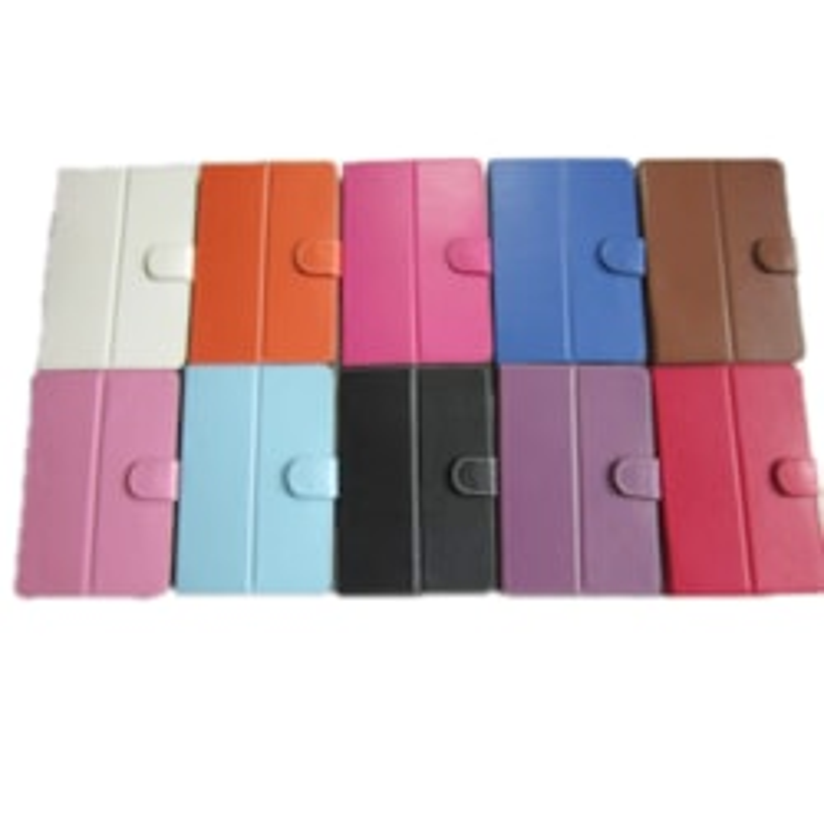 Leader Tablet 10' CasePink W/Clips Folio For Any 9.7'/10' Tablet