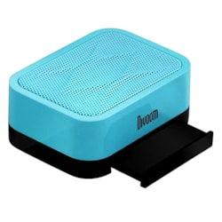 Divoom iFit-1 Portable Speaker, Smart Stand, 360-Degree Sound Field, Up To 6H Playback, Blue