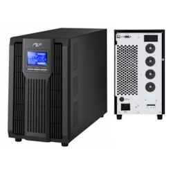 FSP Champ 3000Va / 2700W Online Ups /Smart Rs-232/Usb/Snmp. Requires 15Amp Wall Socket To Support Large Ground Pin.
