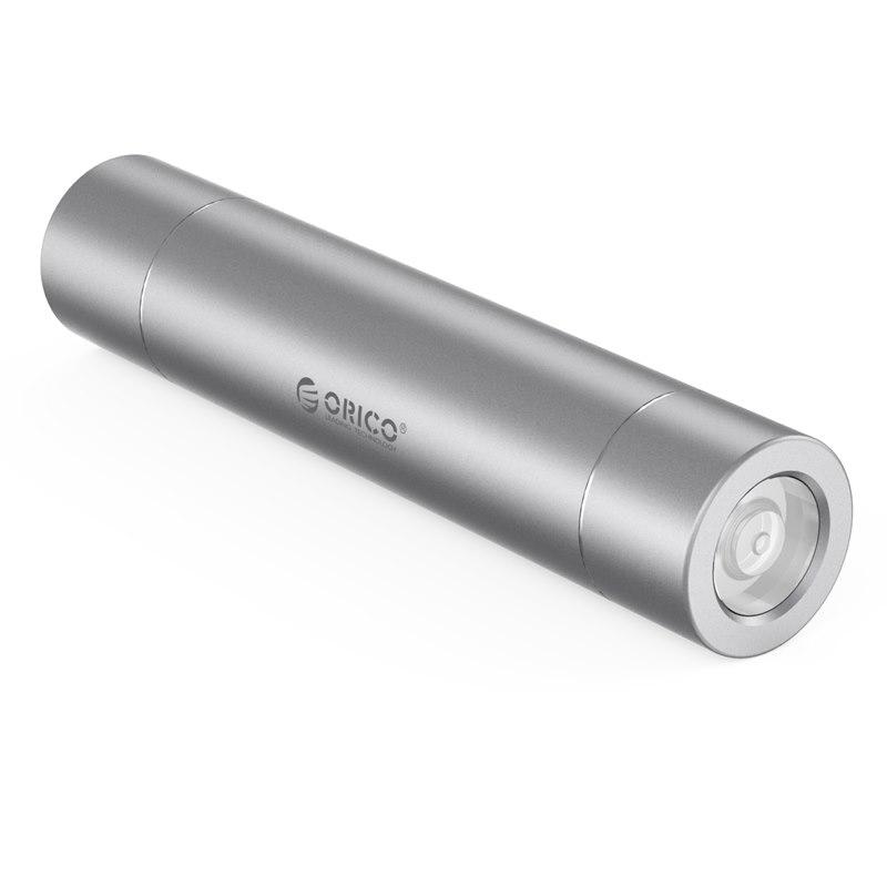 Orico 3350Mah Powerbank - Micro Usb Input - Compact Size - Silver