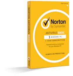 Norton Antivirus Basic 1.0 1 User, 1 Device, 12M Subscription - Retail Box