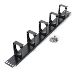 Astrotek 1U Rack Mount Cable Management Plastic Panel