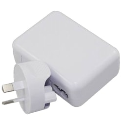 Astrotek Usb Travel Wall Charger Power Adapter Au Plug 2A 220V 2 Ports White Colour