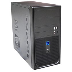 Aywun 202 Matx Builder's Case With 500W Psu. 24Pin Atx, 8Pin Eps, 1X USB3+1x Usb2, HD Audio. 2 YRS Warranty