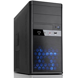 Aywun 208 Matx Integrator's Case With 500W Psu. 24Pin Atx, 1X USB3+1x Usb2, HD Audio. No Fan. 2 YRS Warranty.