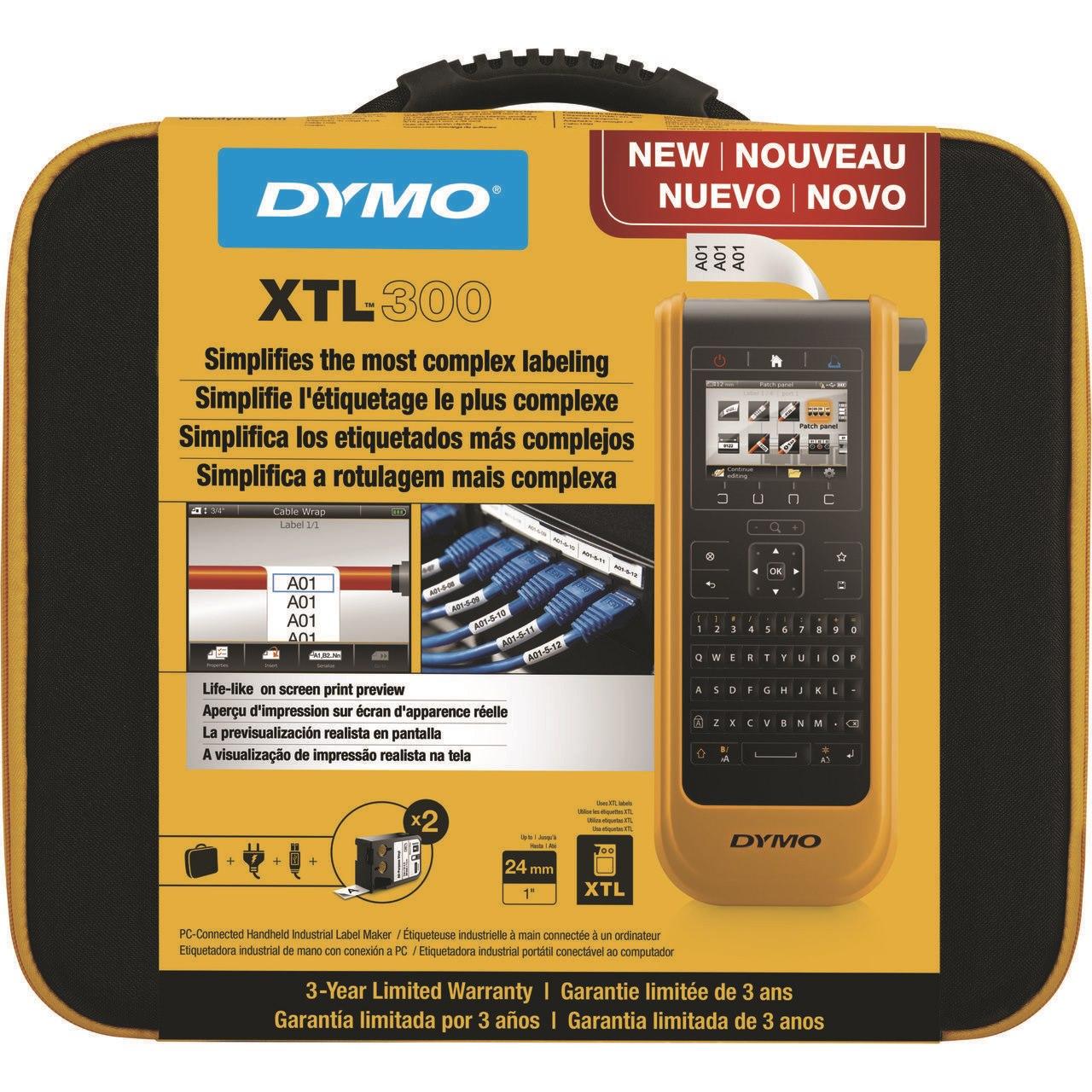 Dymo DY XTL 300 Printer Kit Qwerty