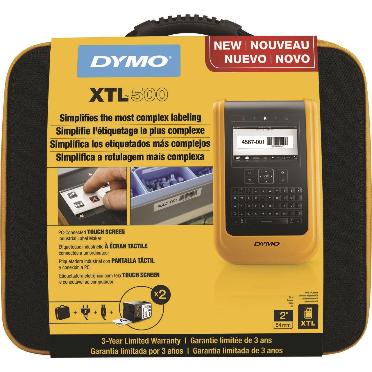 Dymo XTL DY XTL 500 Printer Kit Qwerty