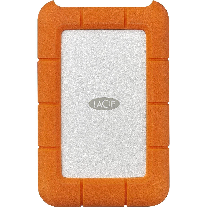 """LaCie Rugged STFR4000800 4 TB 2.5"""" External Hard Drive - Desktop"""