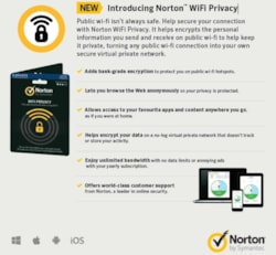 Norton Wifi Privacy 1.0 Au 1 User 1