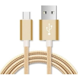 Astrotek 1M Micro Usb Data SYNC Charger Cable Cord Gold Color For Samsung HTC Motorola Nokia Kndle Android Phone Tablet & Devices
