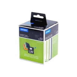 Dymo Lever Arch File Large - Paper/White 59MM X 190MM 1 Roll/Box 110 Labels/Roll