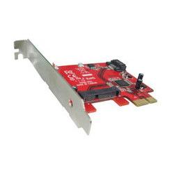 Condor Lype115m 6Gbps SaTA Iii 1 X Msata + 1 X Sata Low Prfile PCIe Host Adapter