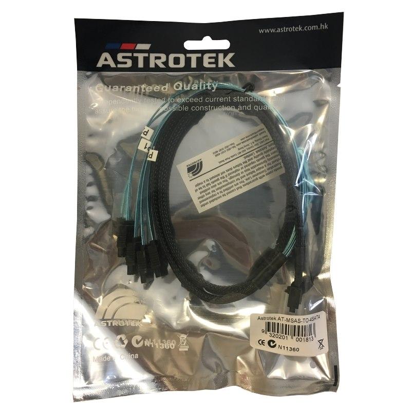 Miscellaneous Astrotek Internal Mini Sas To Sata Cable, 1M
