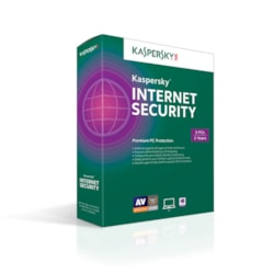 Kaspersky Internet Security, 3 PC 2 Year License Key (PC Only)