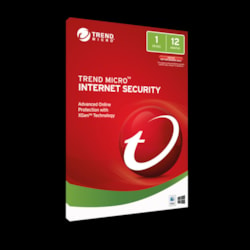 Trend Micro Internet Security 2017 (1 Devices) 12MTH Add-On