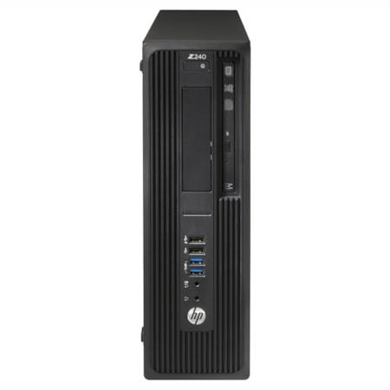 HP Z240 SFF I7 8GB 256GB+1TB P600 W10P 3YR