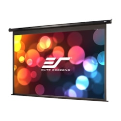 "Elite Screens 100"" Motorised 16:9 Projector Screen, Floating Wall Mount Ir, RF, & 12V, Powermax Pro"