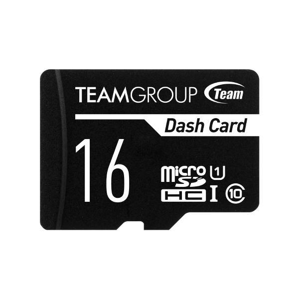 Team Dash Card 16GB Ush-1 Micro SD Card