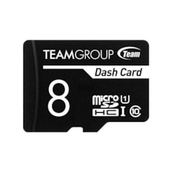 Team Dash Card 8GB Ush-1 Micro SD Card