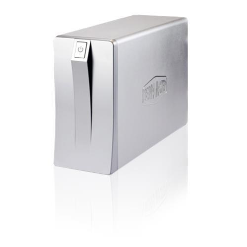 Noontec TerraMaster U2-Nas+ Home Nas Device, 2X 3.5' Sata Bays, Gigabit, BT, Max 4TB