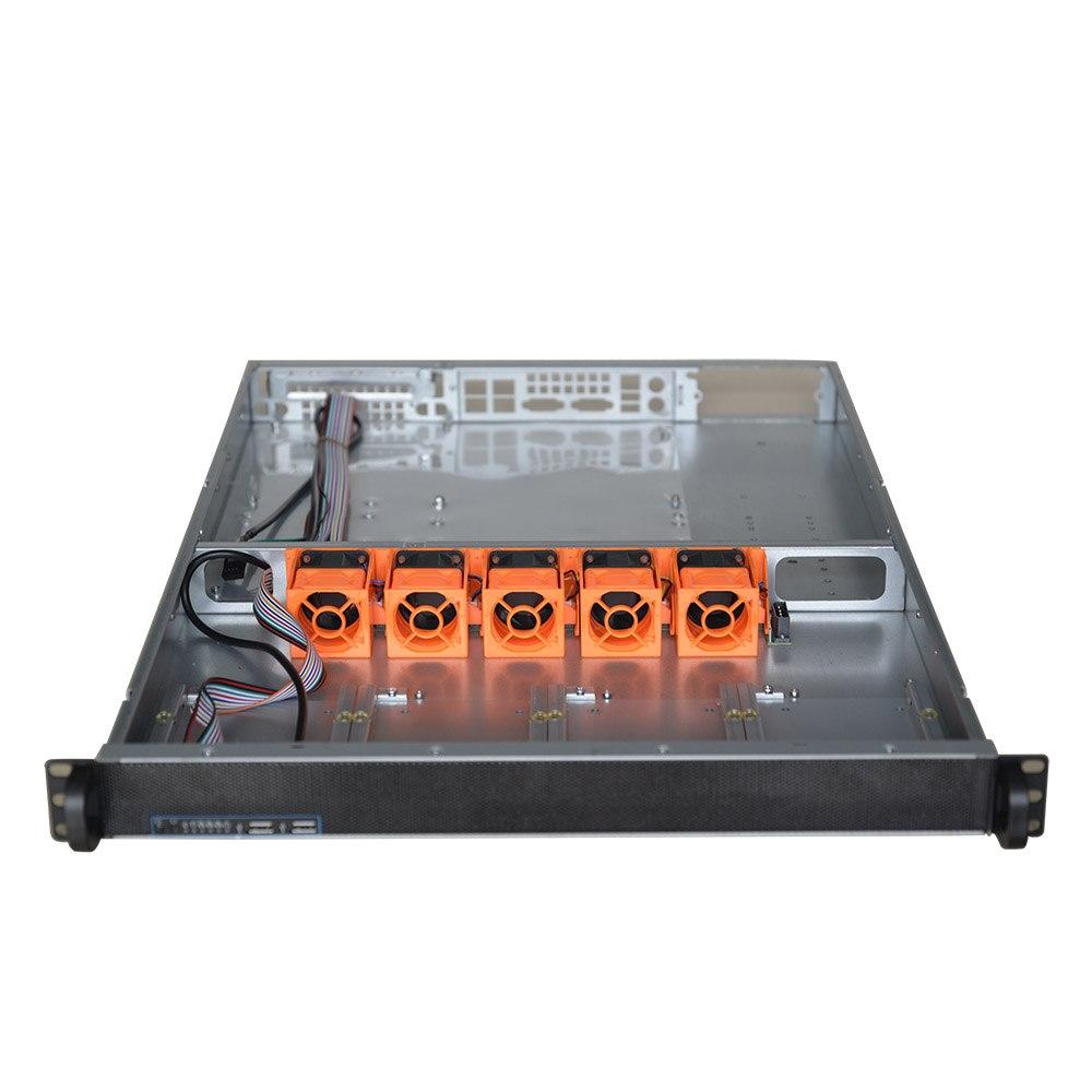 TGC Rack Mountable Server Chassis Case 1U 650MM Depth - No Psu