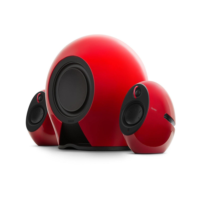 Edifier 'Luna E' E235 2.1 Home Entertainment System - Red, Bluetooth aptX