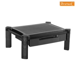 Brateck Height-Adjustable Smart Stand With Drawer 13''-32''