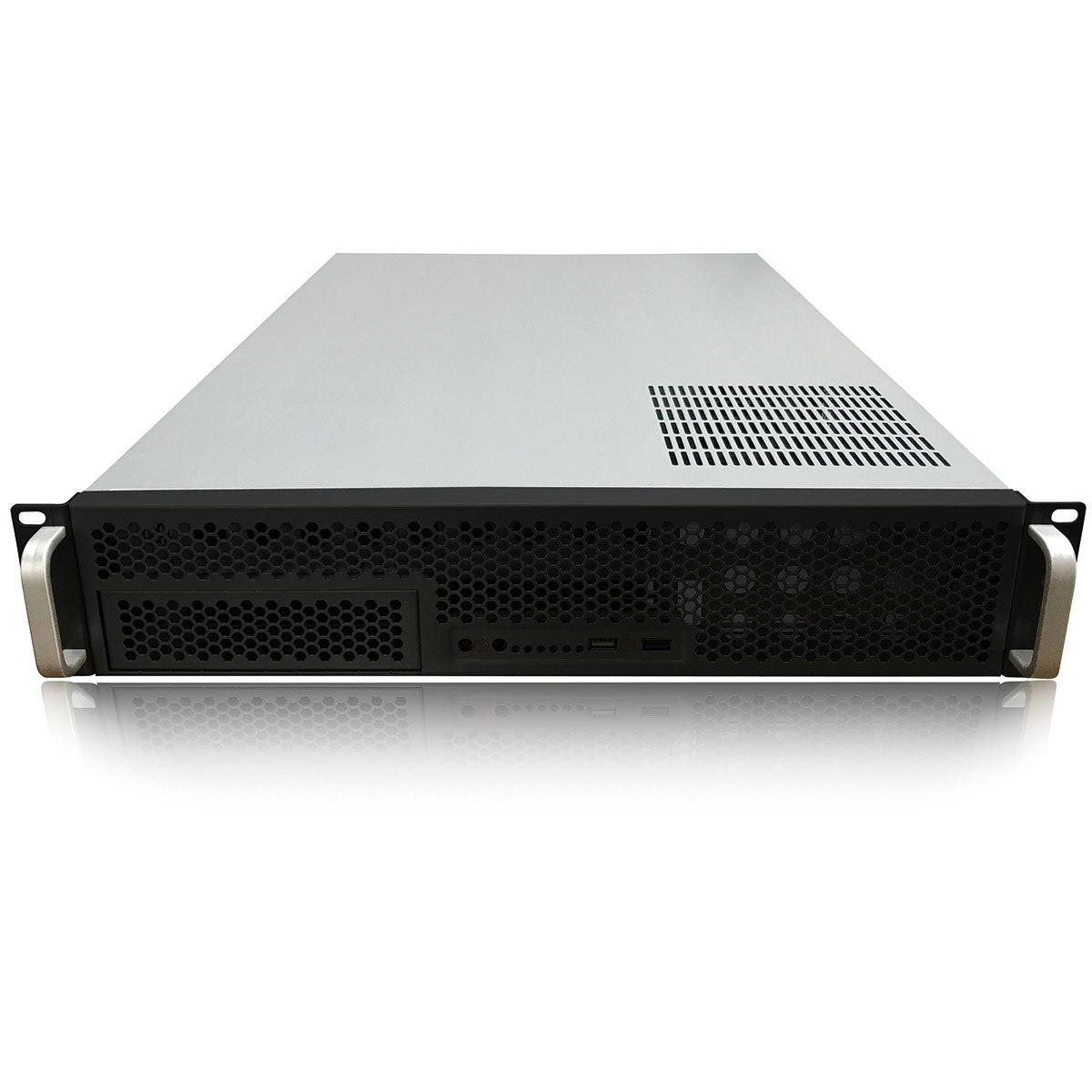 "TGC Rack Mountable Server Chassis 2U With 6 Fixed HDD Bays, 3 Optional 2.5"" HDD Bays - No Psu"