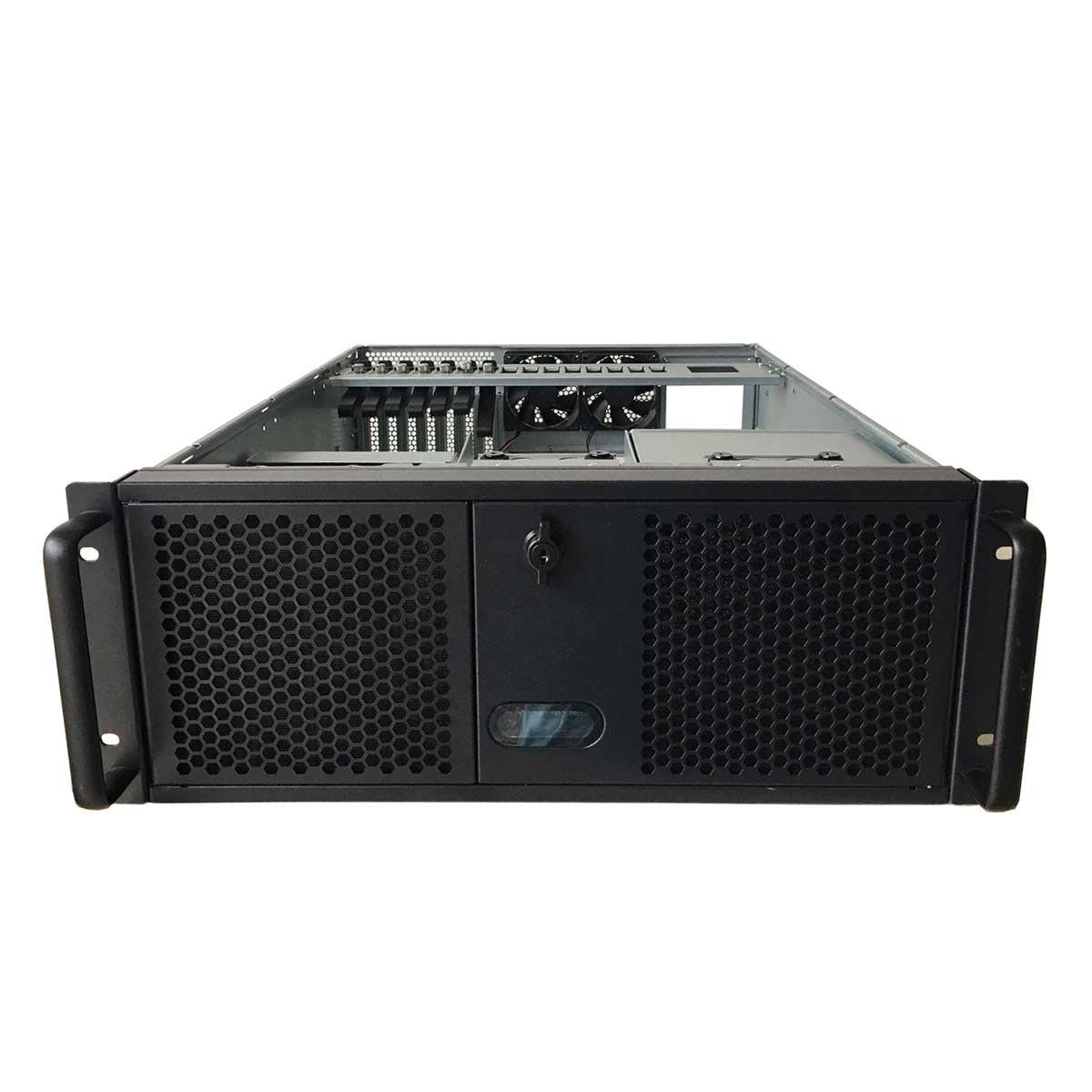 """TGC Rack Mountable Server Chassis 4U With 3 5.25"""" Slot, 4 HDD Bays, 1 Optional 2.5"""" HDD Bay"""