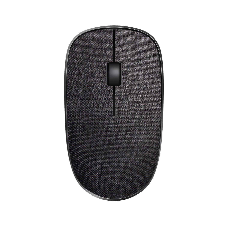 Rapoo 2.4G Wireless Fabric Optical Mouse Black