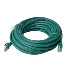 8Ware Cat 6A Utp Ethernet Cable, Snagless - 50M Green