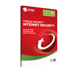 Trend Micro Internet Security 1Device, 12Mth Retail Digital Download Card