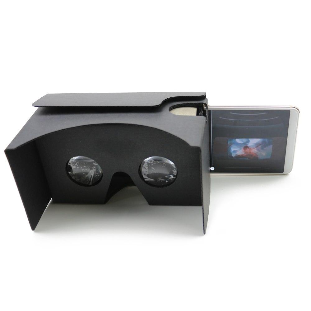 Rock 3D Virtual Reality Cardboard Glasses Kit
