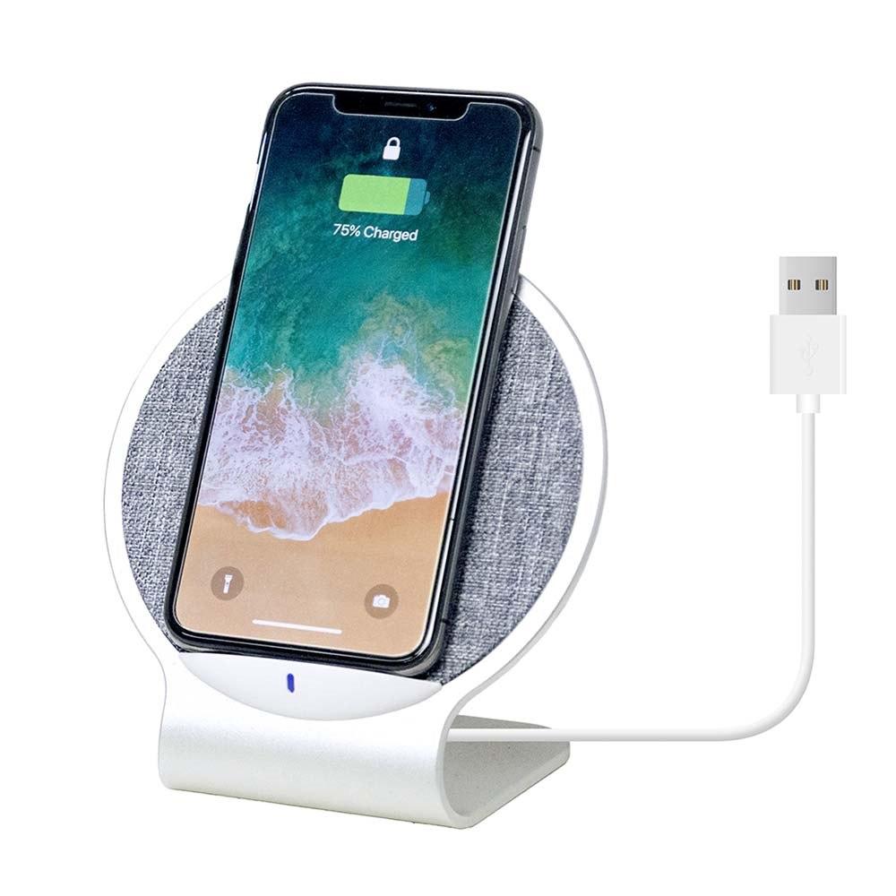 Mbeat Aurora 10W Dual Coil Aluminium Wireless Charging Stand