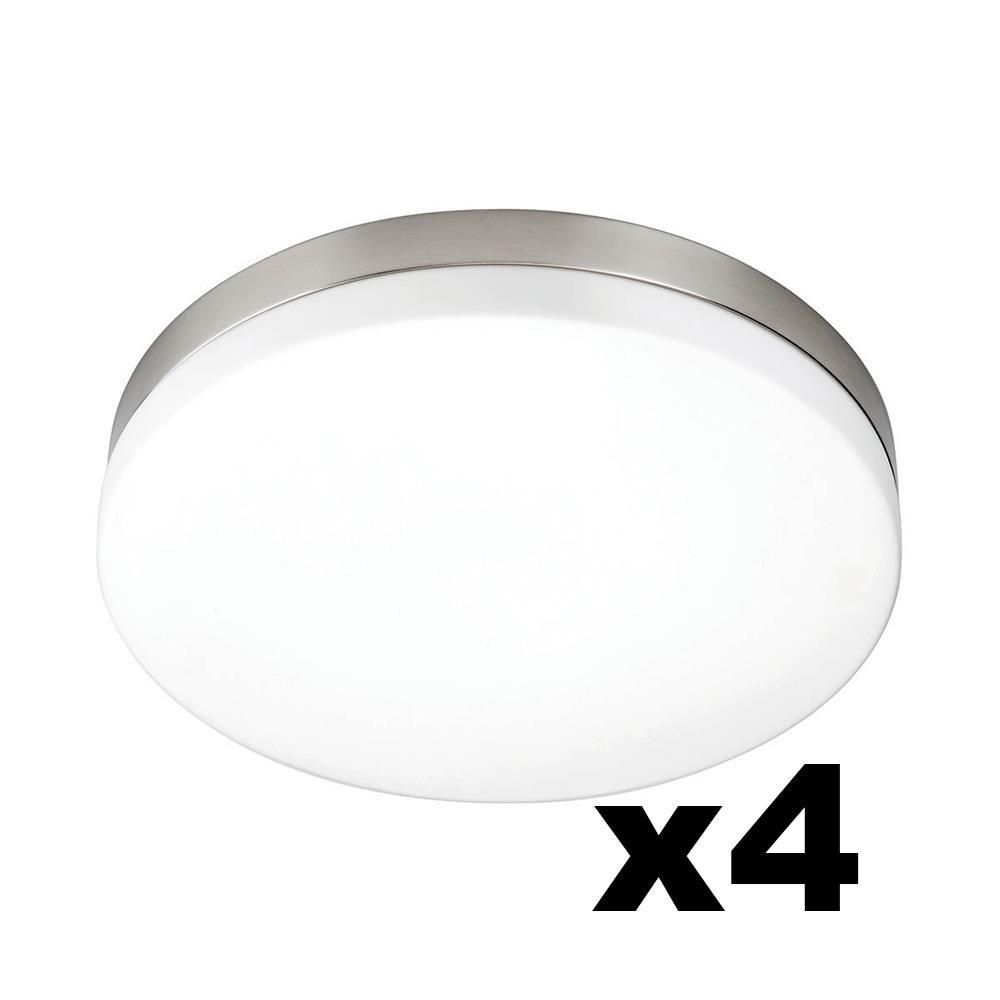LEDware Omnizonic Led Ceiling Light 12W (1000 LM) Natural White - 280MM Diameter- Pack Of 4