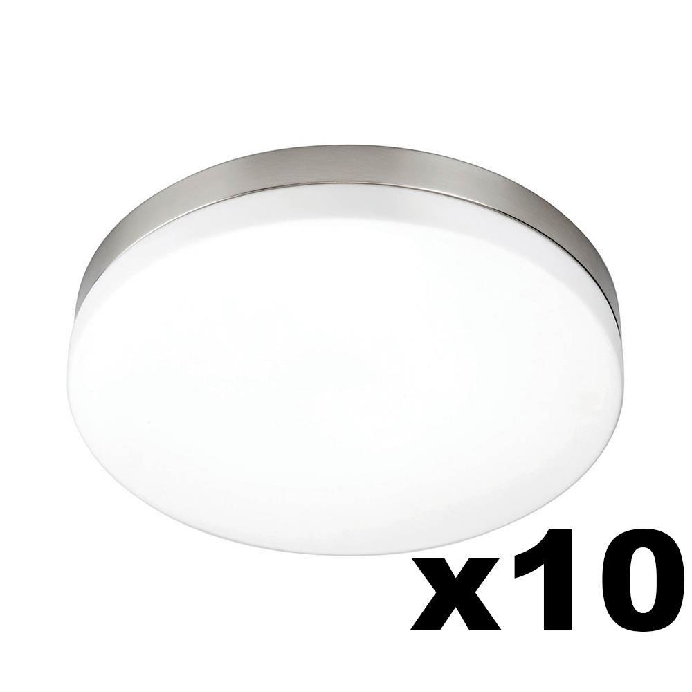 LEDware Omnizonic Led 10 Pack - Ceiling Light 12W (1000 LM) Natural White - 280MM Diameter - Pack Of 10