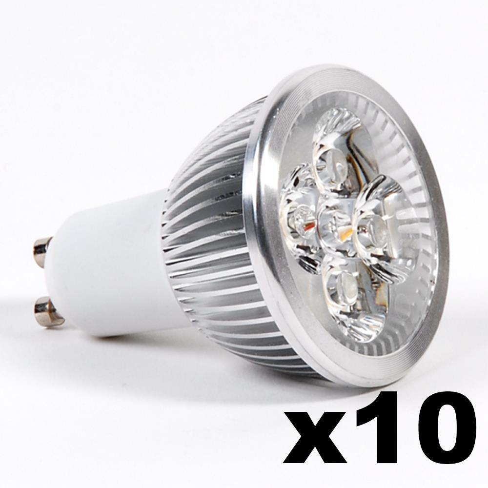 LEDware Omnizonic Led 10 Pack - Spotlight Mr16-Gu5.3 4W (250 LM) Natural White