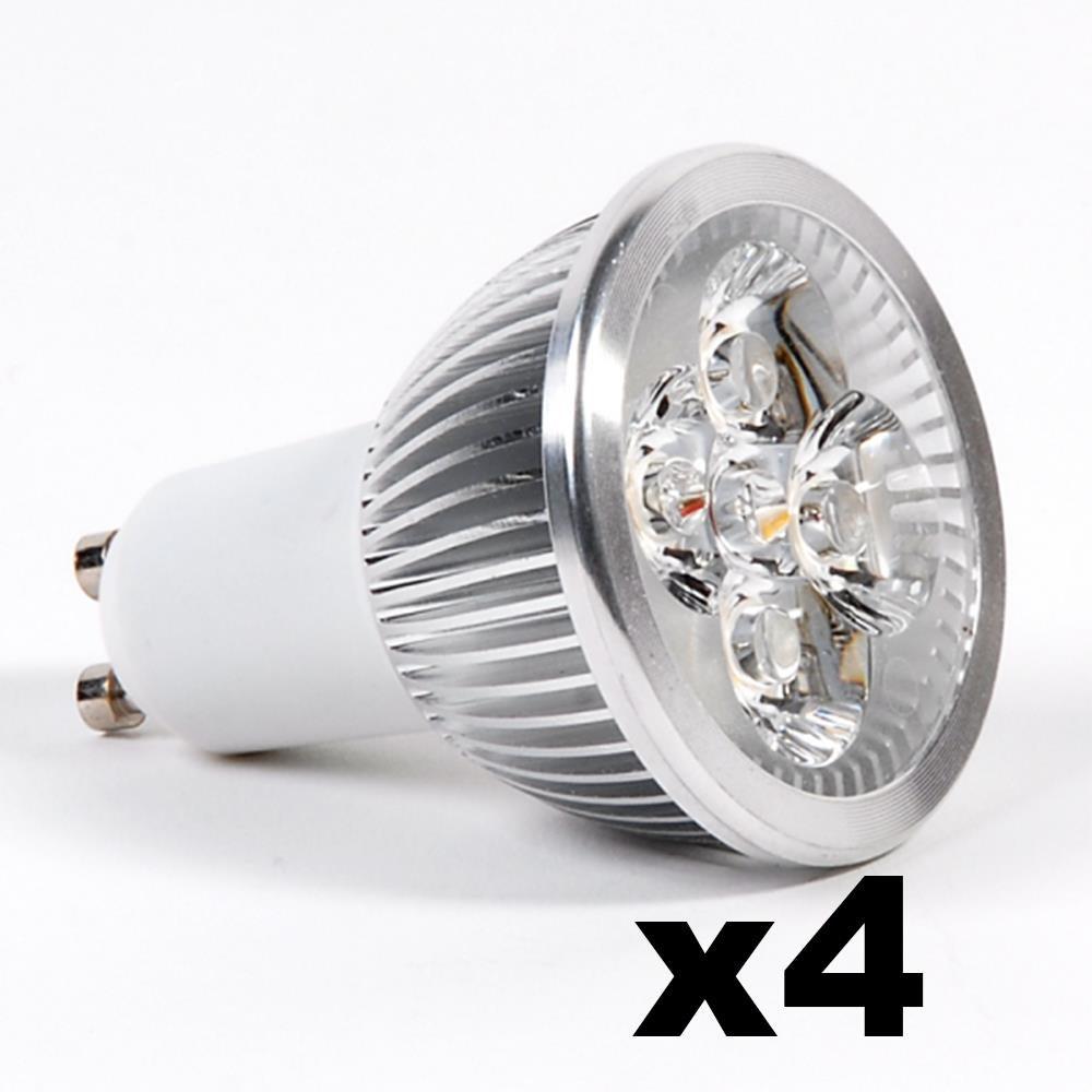 LEDware Omnizonic Led 4 Pack - Spotlight Mr16-Gu5.3 4W (250 LM) Natural White