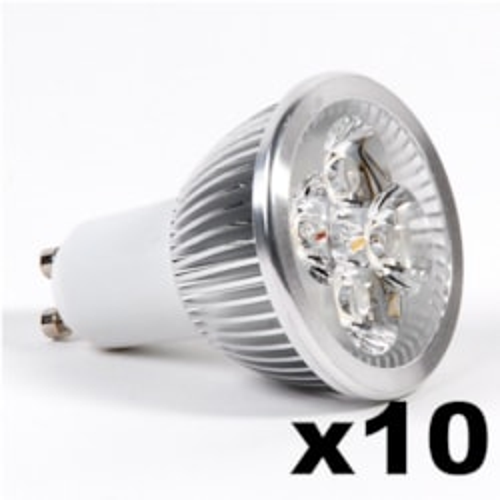 LEDware Omnizonic Led 10 Pack - Spotlight Mr16-Gu5.3 4W (250 LM) Warm White